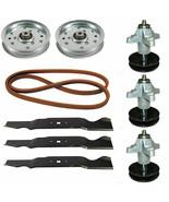 """Deck Rebuild Kit for Cub Cadet GT 1554 54"""" - Spindles Blades Pulleys Belt - $139.95"""
