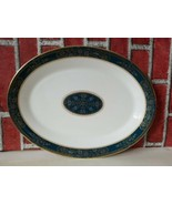 "Royal Doulton China Carlyle Oval Platter Server 13.5"" 13 3/4"" - $77.18"