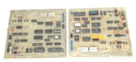 LOT OF 2 MICROTROL DC00006-501 CONTROL BOARDS DC00006501 *DAMAGED*