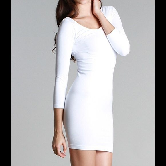 fd8a4043e343 NEW Sexy Nikibiki White Scoop Neck Dress and 37 similar items