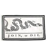 ALBATROS 3 ft x 5 ft Benjamin Franklin Join or Die Flag Heavy Duty 210D ... - $40.26
