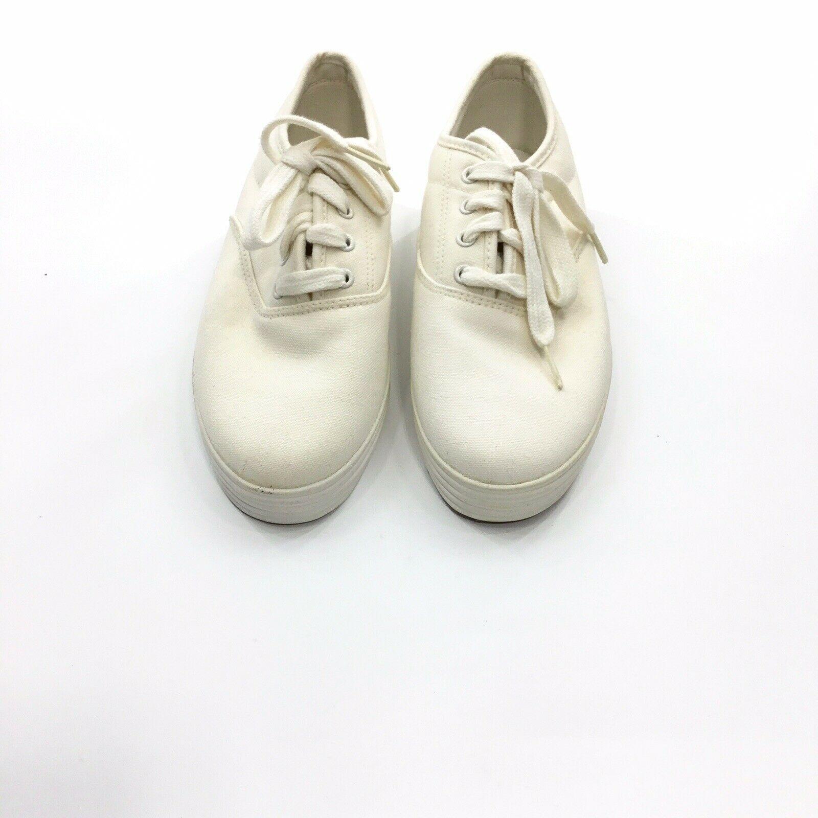Aerosoles Women's Wally Ball White Sneakers 7.5M - $15.10