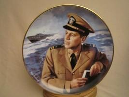 HERO OF PT 109 JFK Collector Plate PRESIDENT JOHN F KENNEDY  Max Ginsburg - $29.99