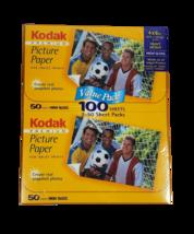 Kodak 4x6 Premium Picture Paper Inkjet Photos 100 Sheets PPP3A High Gloss USA - $12.86