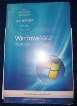 computer software Microsoft windows vista business dvd  new sealed - $18.00