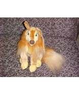 """8"""" Flo Girl Collie Dog Plush With Tags From All Dogs Go To Heaven Don Bl... - $93.49"""