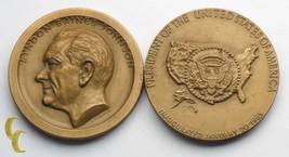 Medallic Art Co Lyndon Johnson Presidential Inauguration Medal 2 piece lot MACO - $29.70