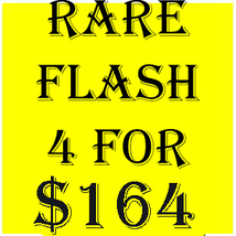 WED- THURS FLASH SALE! PICK ANY 4 FOR $164  BEST OFFERS DISCOUNT  - $164.00