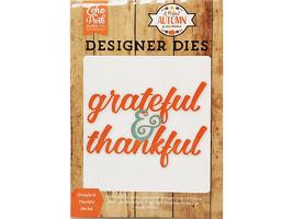 Echo Park Designer Dies Grateful & Thankful Die Set #APA132042