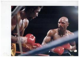 Thomas Hearns Marvin Hagler 1985 Vintage 8X10 Color Boxing Memorabilia P... - $14.95