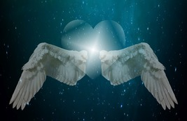 ANGEL WINGS HEALING SPELL! CAST OVER 30 DAYS! COMPLETE HEALTH! LUCK! MAGICK! - $55.99