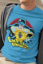 Captain Universe T Shirt retro Marvel Comics vintage 70s Micronauts heathered image 3