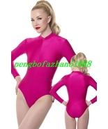 Unisex Short Body Suit Rose Red Lycra Spandex Body Suit Catsuit Costumes S840 - $32.99