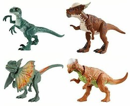 JURASSIC WORLD Real Mini Action Figure Assorted 6 bodies total length ab... - $82.40