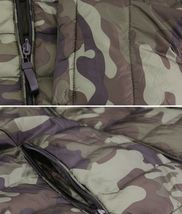 Men's Reversible Camo Lightweight Insulated Quilted Packable Puffer Zip Jacket image 5