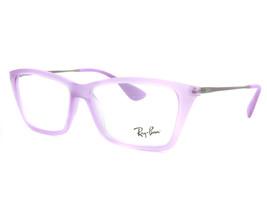 NEW Ray Ban RB 7022 5367 52mm Violet Gunmetal Eyeglasses - $80.10