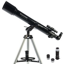Celestron 21036 PowerSeeker 70AZ Telescope Black - $74.34