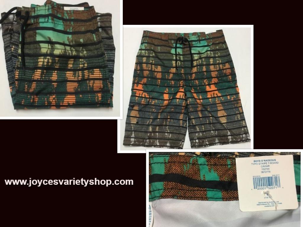 Orageous swim shorts boys web collage