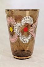 Vintage Crystal Arcadia Hand Made Vase Czechoslovakia Contemporary Moder... - $95.20