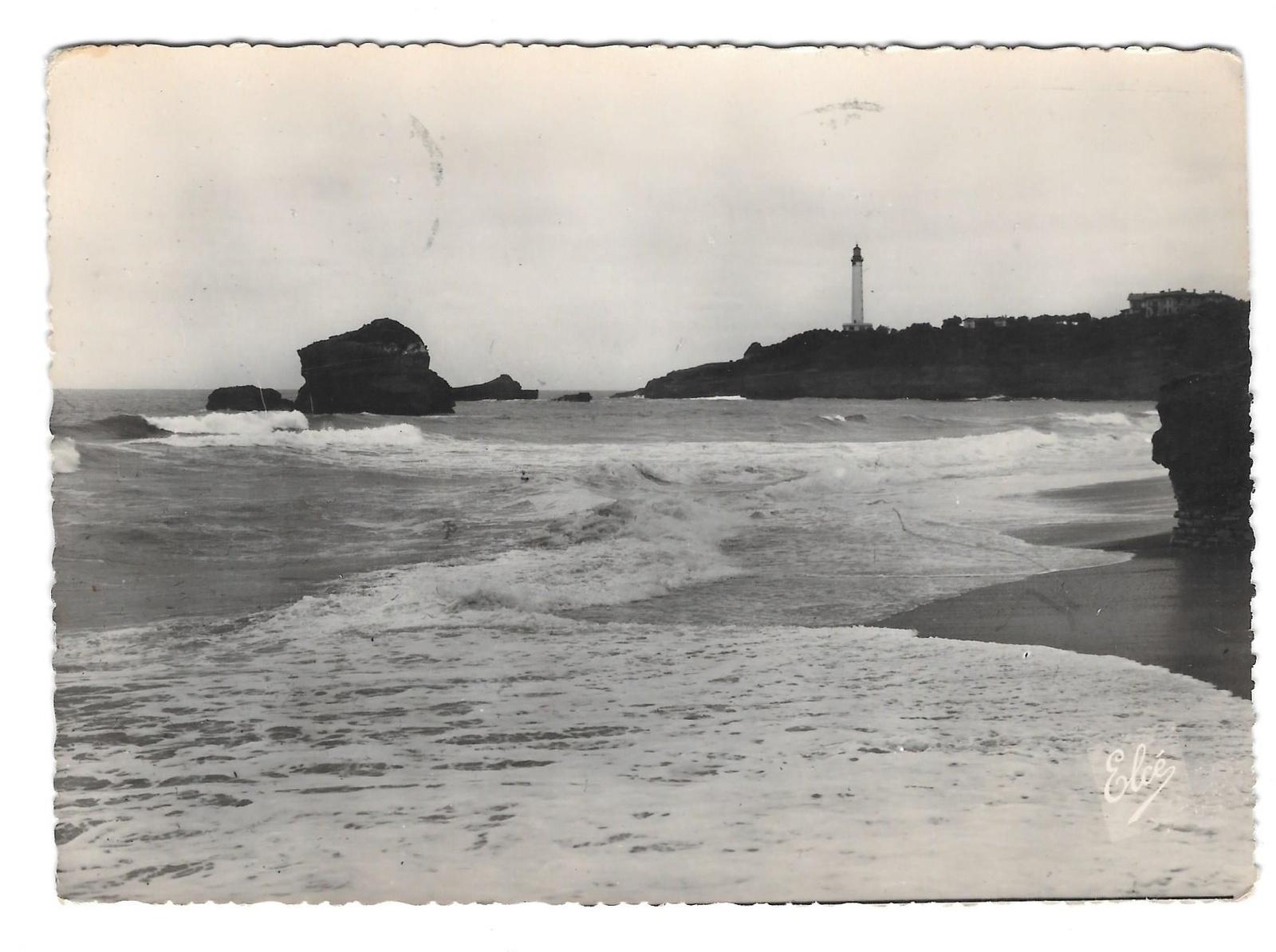 97 3025 ea france biarritz grande plage beach