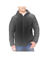 Reebok Men's Hybrid Softshell Jacket, Charcoal, L - $24.74