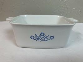 Corning Ware Blue Cornflower 1 1/2 Qt P-4-B Rectangle Dish Loaf Pan **no lid - $9.46