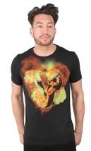 Versace Jeans Big V Orange Print Men's Graphic Tee NWT