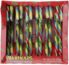 Warheads Candy Canes 12 Count - 2 Boxes - $9.90