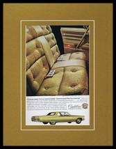 1968 Cadillac Fleetwood Brougham Framed 11x14 ORIGINAL Vintage Advertise... - $41.71
