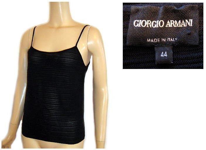 31d9e24ba14 Giorgio Armani Italy Black Tonal Stripe and 15 similar items. S l1600
