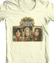 Charlie's Angels T-shirt 1970's retro style cotton graphic distressed tee CA100 image 3