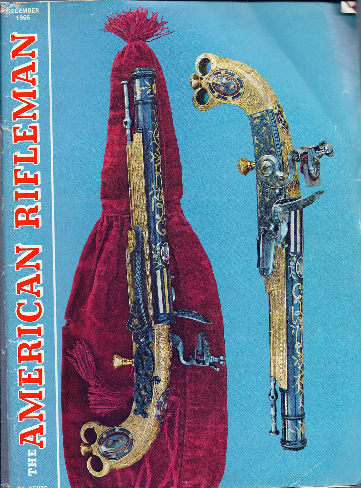 Primary image for The American Rifleman December 1966 Magazine