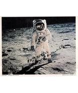 NASA Picture # 14 Edwin Aldrin ... the second man on the moon - $4.95
