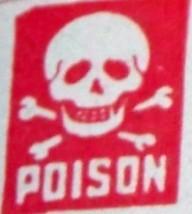 Arsenate of lead label 002
