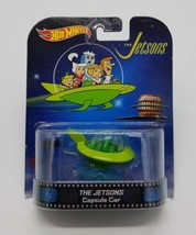 Hot Wheels The Jetsons Capsule Car 2013 Mattel Brand New Retro Entertain... - $14.73