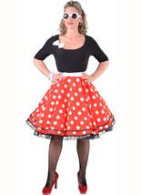 50's Rock & Roll , Rockabilly Dance Dress  - XS - XXL , Longer Red/White/Black - $48.71