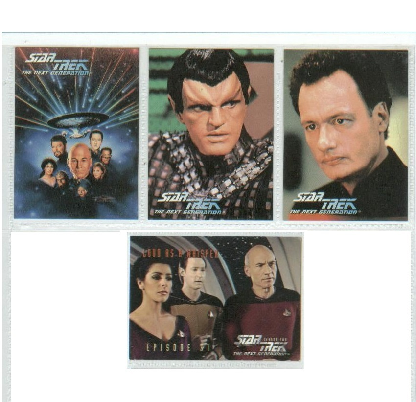 Star Trek the Next Generation TECHNICAL MANUAL st-tng sttng + bookmark+cards