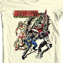 Micronauts Graphic Tee Shirt 80's retro comics toys distressed t-shirt cotton image 1