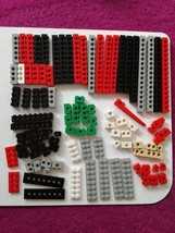 Technic Bricks and Plates Mixed Colours Parts Job lot - $6.97