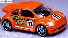 NICE GIFT!! KEY CHAIN ORANGE VW NEW BEETLE VOLKSWAGEN BUG CUSTOM LIMITED... - $28.98