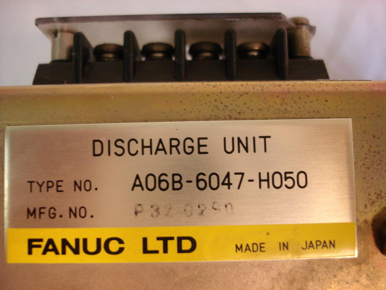 Fanuc Discharge Unit A06B-6047-H050