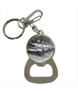 T-55 Red Army USSR Tank Bottle Opener Keychain - $7.70