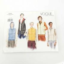 Vogue 2450 Basics Vest Size 12 14 16 Pattern Uncut - $16.82