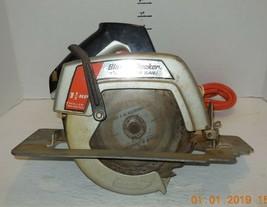 "B + D Black and Decker 7 1/4"" Circular Saw 9.5 Amps 4700 RPM Model 7320 - $46.75"