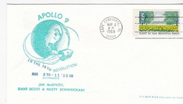 APOLLO 9 IN THE 76th REVOLUTION CAPE CANAVERAL FL MAR 8 1969  - $1.98
