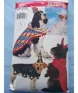 Dog Costume Pattern - Devil/Jester/Princess/Magician - $3.99