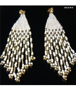 Vintage Gold Filled CHANDELIER EARRINGS with 14K GOLD POSTS - FREE SHIPPING - $4.367,49 MXN