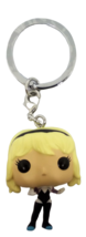 "Funko Pop Marvel Spider Gwen Keychain Mini 1.5"" Bobblehead Disney Spider... - $8.84"