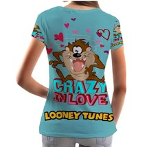 Looney Tunes Tazmania Crazy in Love Looney Tunes  WOMENS TEE - $19.99+