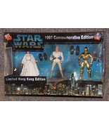 1997 Commemorative Edition Star Wars 3 Figure Boxed Set Limited Hong Kon... - $54.99